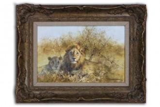 David Shepherd Two Lions